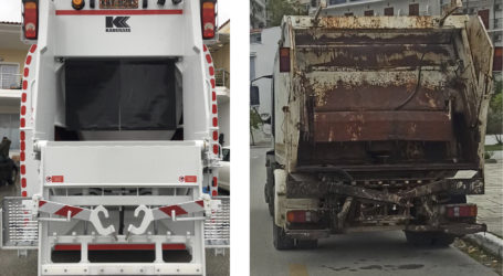 Ένα «νέο» όχημα για την υπηρεσία καθαριότητας του Δήμου.