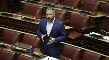 Ο Αλ. Μεϊκόπουλος από το βήμα της Βουλής: Η πραγματικότητα σαμποτάρει τον λόγο και το έργο της κυβέρνησης