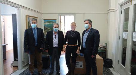 Δωρεά υγειονομικού υλικού σε υπηρεσίες υγείας της Μαγνησίας