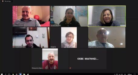 ΟΕΒΕΜ: Έκοψε διαδικτυακά πίτα παρουσία Καββαθά