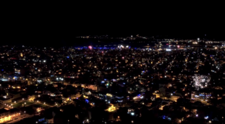Ο Βόλος υποδέχθηκε με πυροτεχνήματα το 2021 – Δείτε βίντεο