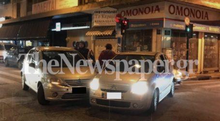 Βόλος: Το χαλάζι έφερε… τροχαίο ατύχημα στο κέντρο [εικόνες]