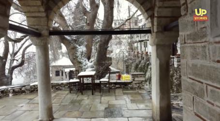 Πήλιο: Ο χιονιάς δημιούργησε ένα εντυπωσιακό σκηνικό [βίντεο]