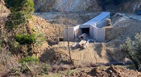 Διανοίχτηκαν τα πρώτα 6,5 χλμ στον παραλιακό άξονα Ρακοπόταμος – Κεραμίδι που κατασκευάζει η Περιφέρεια Θεσσαλίας για τη σύνδεση Λάρισας-Μαγνησίας