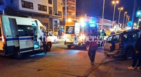 ΤΩΡΑ: Σοβαρό τροχαίο στην οδό Λαρίσης – Δείτε εικόνες