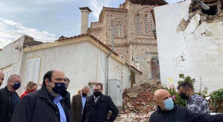Στη σεισμόπληκτη Σάμο ο Χρήστος Τριαντόπουλος [εικόνες]