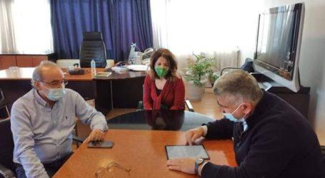 Πρώτη συνάντηση Μιτζικού με τον νέο Συντονιστή Αποκεντρωμένης Διοίκησης