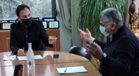 Συνάντηση Μιτζικού – Παπαστεργίου