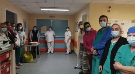 Βασιλόπιτα έκοψε η Ρευματολογική Κλινική του Πανεπιστημιακού Νοσοκομείου Λάρισας