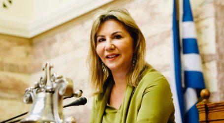 Υφυπουργός Παιδείας ορκίζεται η Ζέττα Μακρή