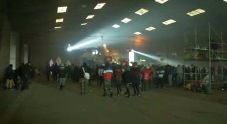 Τραυματίες αστυνομικοί κατά την έφοδο σε πρωτοχρονιάτικο πάρτι