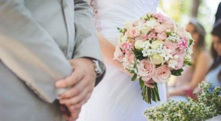 Ο πρώτος γάμος του 2021 τελέστηκε στο δημαρχιακό μέγαρο της Θεσσαλονίκης