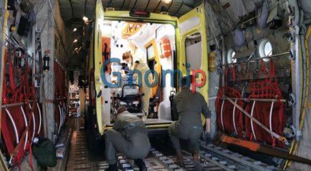 Με C-130 από την Ελευσίνα στην Ιταλία μεταφέρεται 8χρονη