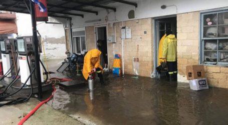 Σοβαρά προβλήματα από την έντονη βροχόπτωση στις Σέρρες