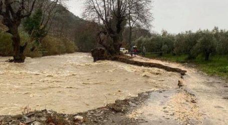 Χιονοπτώσεις στα ορεινά, πλημμυρικά φαινόμενα και καταστροφές