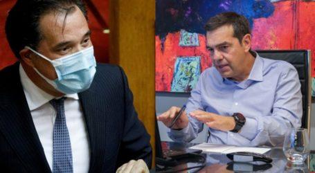 «Πόλεμος» Τσίπρα – Γεωργιάδη για το καθυστερημένο lockdown στη Θεσσαλονίκη