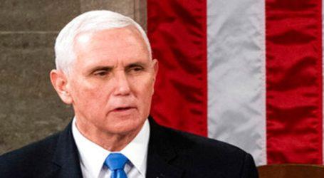 Ο αντιπρόεδρος Μάικ Πενς ζητεί τον «άμεσο» τερματισμό της βίας στο Καπιτώλιο