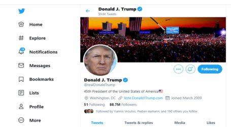 Το Twitter κατέβασε τον λογαριασμό του Τραμπ!