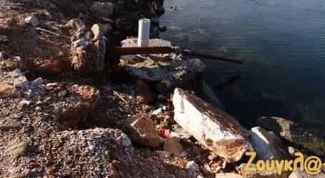 Εικόνες νροπής και εγκατάλειψης στον Ναυτικό Όμιλο Νέας Μάκρης