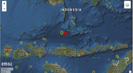 Σεισμός 5,6 Ρίχτερ σε θαλάσσια περιοχή της Ινδονησίας