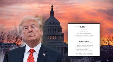 Κατατέθηκε στη Βουλή των Αντιπροσώπων η πρόταση αποπομπής Τραμπ