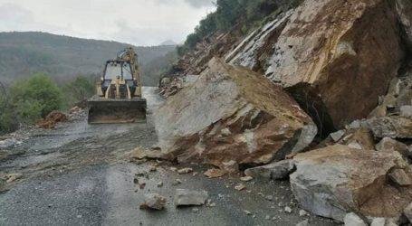 Προβλήματα από τις έντονες βροχοπτώσεις στα Ιωάννινα