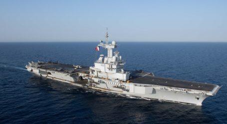 Το αεροπλανοφόρο Charles-de-Gaulle θα πραγματοποιήσει αποστολή στην ανατολική Μεσόγειο
