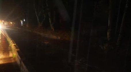 Προβλήματα από την έντονη βροχόπτωση στη Δυτική Λέσβο