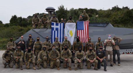 Συνεκπαίδευση των ειδικών δυνάμεων Ελλάδας-Κύπρου-ΗΠΑ στη Σούδα