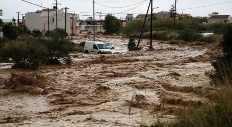 Πλημμυρισμένα 110.000 στρέμματα σε Έβρο και Ροδόπη