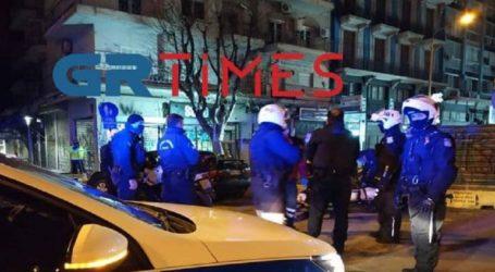 Ένας τραυματίας και δύο προσαγωγές σε συμπλοκή στο κέντρο της Θεσσαλονίκης