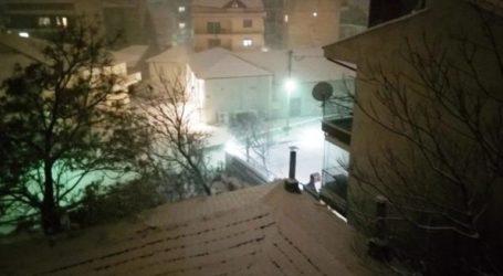 Χιονίζει σε Θεσσαλονίκη, Φλώρινα και Σέρρες