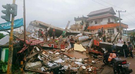 Αυξάνεται ο αριθμός των θυμάτων από τον σεισμό στην Ινδονησία