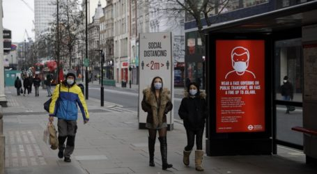 Βρετανία-Covid-19: Μειώνονται τα κρούσματα – 1.295 θάνατοι σε 24 ώρες