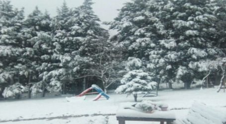 Μυτιλήνη: Προβλήματα από τις χιονοπτώσεις
