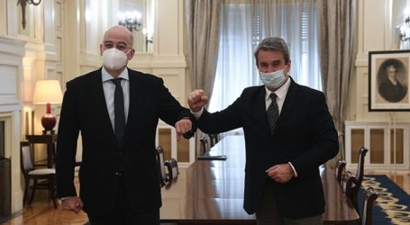 «Συζητήσαμε και το ζήτημα της επέκτασης της κυριαρχίας της Ελλάδας στα 12 ν.μ.»