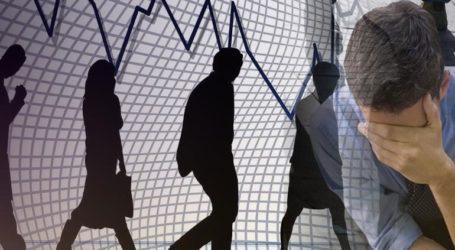 Άλμα 34,2% στο σύνολο των επιδοτούμενων ανέργων τον Δεκέμβριο