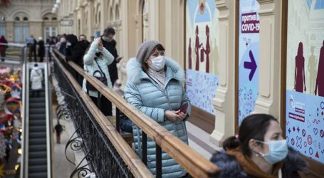 Σε 20.921 ανέρχονται τα νέα κρούσματα κορωνοϊού στη Ρωσία
