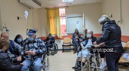 Εικόνες υγειονομικής «μάχης» στα μεγάλα νοσοκομεία της Κρήτης