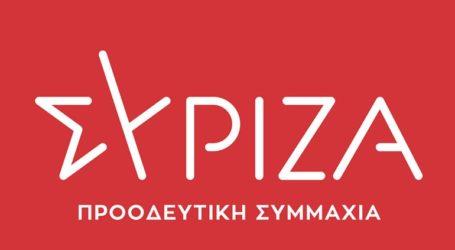 Συλλυπητήριο μήνυμα ΣΥΡΙΖΑ για την απώλεια του Σήφη Βαλυράκη