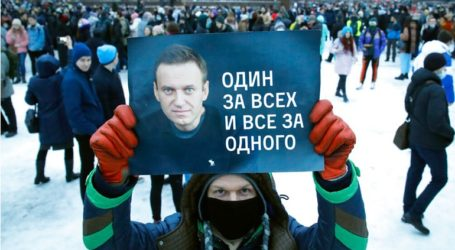 H Ρωσία κατηγορεί τους διαδηλωτές υπέρ της απελευθέρωσης Ναβάλνι