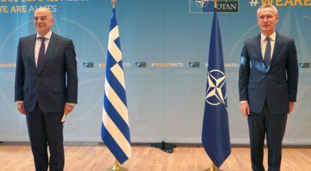 Η Ανατ. Μεσόγειος στο επίκεντρο της συνάντησης Δένδια με τον ΓΓ του ΝΑΤΟ