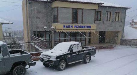 Χιονίζει στη Χαλκιδική, τις Σέρρες και τα ορεινά των νομών Ημαθίας, Πιερίας και Πέλλας