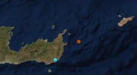 Σεισμός 3,8 ρίχτερ στη θαλάσσια περιοχή Ηρακλείου Κρήτης