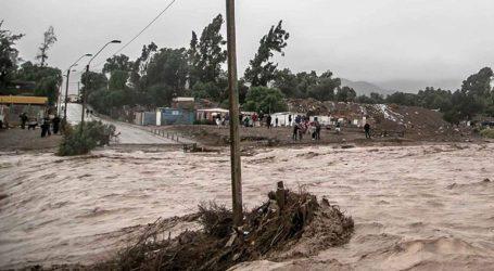 Χιλή: Βροχοπτώσεις ρεκόρ στο Σαντιάγο
