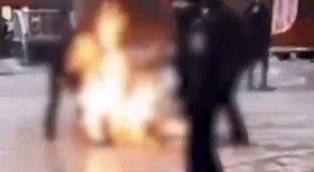 Άνδρας αυτοπυρπολήθηκε στο κέντρο της Μόσχας