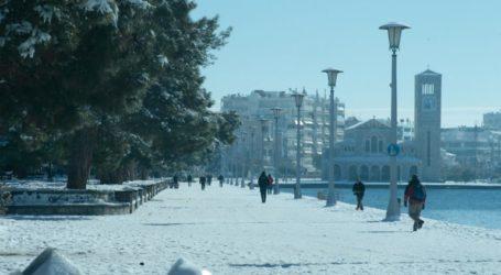Χιόνια και μέσα στον Βόλο αύριο Σάββατο «βλέπουν» οι μετεωρολόγοι