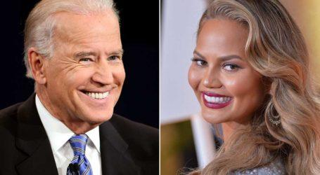Η Chrissy Teigen είναι η πρώτη διάσημη που ακολούθησε ο Joe Biden στο Twitter!