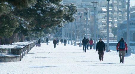 Χιόνια στον Βόλο και θερμοκρασίες κάτω από το μηδέν «βλέπουν» οι μετεωρολόγοι