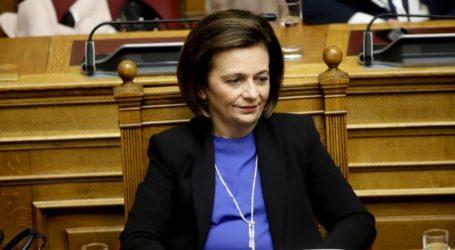 Ομιλήτρια στην Κεντρική Επιτροπή Ανασυγκρότησης του ΣΥΡΙΖΑ η Μ. Χρυσοβελώνη